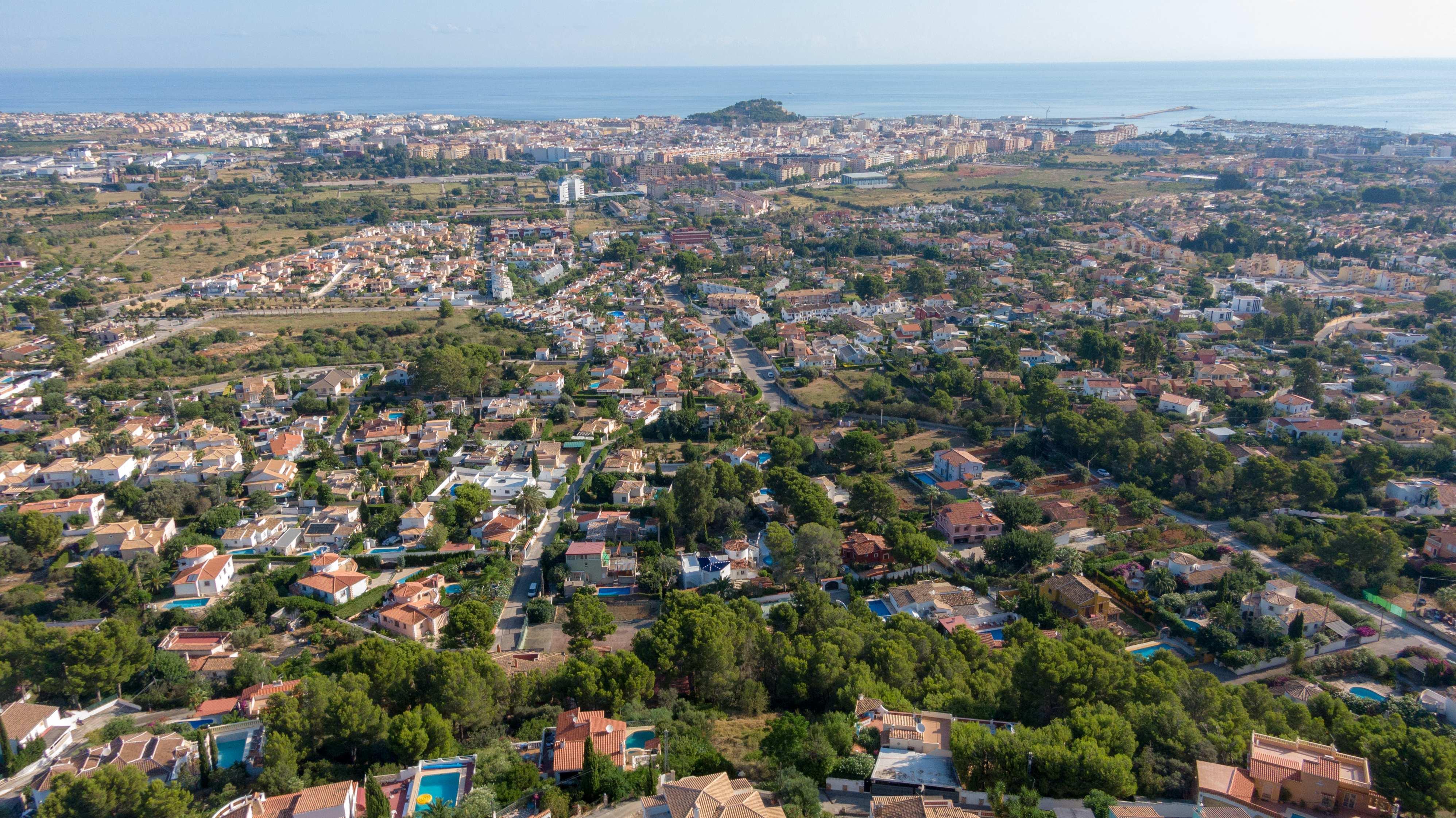 Proyecto con vistas panorámicas, con licencia para construir en el Montgó, Dénia
